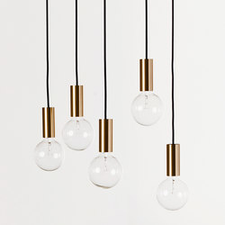 NEB Brasslamp | Ceiling lights | No Early Birds
