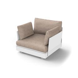 Pure Module 90 A | Garden armchairs | Viteo