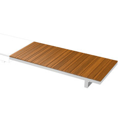 Pure Collection | Wooden Module 180 | Tables basses de jardin | Viteo