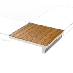 Pure Collection | Wooden Table 90 | Mesas de centro de jardín | Viteo