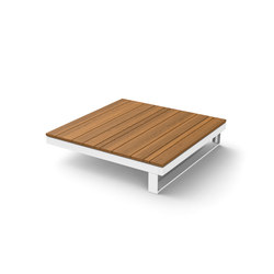 Pure Wooden Table 90 | Mesas de centro de jardín | Viteo