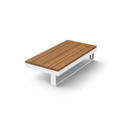 Pure Collection | Wooden Table 45 | Mesas de centro de jardín | Viteo
