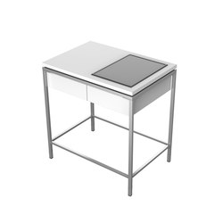 Table, 1 drawer, 1 cutout | Cuisines de jardin | Viteo