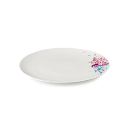 "TABLESTORIES MULTICOLOURED plate flat 33 ""Fox"" 