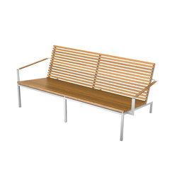 Home Collection Lounge | Double Lounge Chair | Bancs de jardin | Viteo