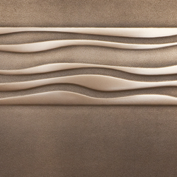 Metallization | frieze of wave 01 | Lastre in metallo | VEROB