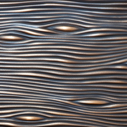 Texture | wave convex with embeddings | Metal sheets / panels | VEROB