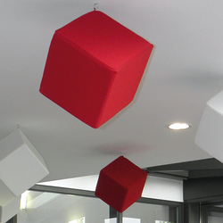 Acoustic elements acoustic cube | Suspended panels | AOS