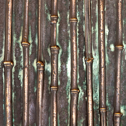 Patination | bamboo | Metal sheets / panels | VEROB