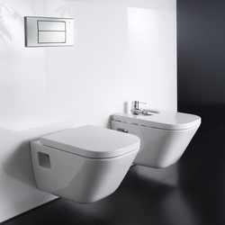 The gap roca toilet bidet unik basin base unit for Inodoro gap suspendido