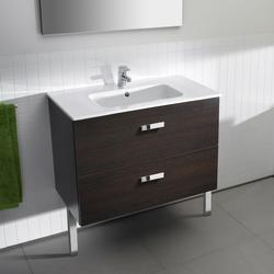 Unik Victoria washbasin with pedestal | Vanity units | ROCA