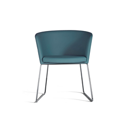 Moon Bold 664 PTN | Visitors chairs / Side chairs | Capdell