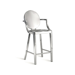 Kong Counter stool with arms | Barhocker | emeco