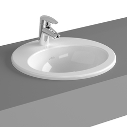 S20 Countertop basin, 43 cm, round | Wash basins | VitrA Bad