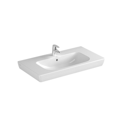 S20 Furniture washbasin, 85 cm | Lavabi / Lavandini | VitrA Bad