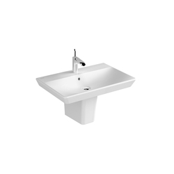 T4 Semi pedestal | Wash basins | VitrA Bad