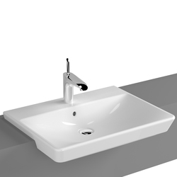 T4 Semi recessed basin, 60 cm | Wash basins | VitrA Bad