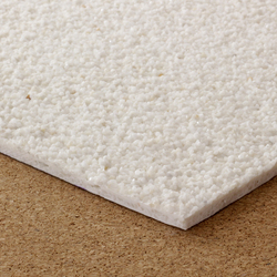 Glass fibre reinforced polymer composite sheet, aggregate finish | Plastics | selected by Materials Council