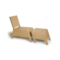 Bastian with Ottoman | Poltrone | Structuredesign