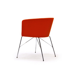 Moon Bold 663 TNS | Visitors chairs / Side chairs | Capdell