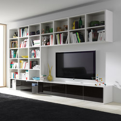 regale produkte von interl bke online finden architonic. Black Bedroom Furniture Sets. Home Design Ideas