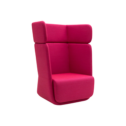 Basket chair high | Lounge chairs | Softline A/S