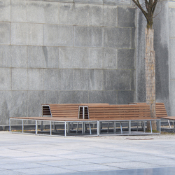 Landscape Configurations in NATWOOD | Exterior benches | BURRI