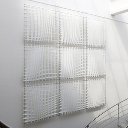 WAVE Acoustic absorber wall | Paneles de pared | Wave