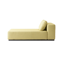 Nevada chaise long | Sofa beds | Softline A/S