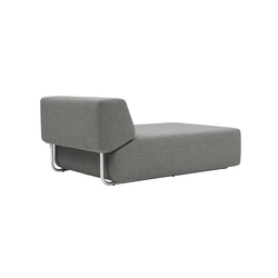 Noa chaise long | Modular seating elements | Softline A/S