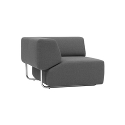 Noa corner | Modular seating elements | Softline A/S