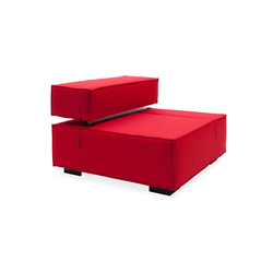 Universal single | Modular seating elements | Softline A/S