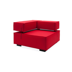 Universal corner | Modular seating elements | Softline A/S