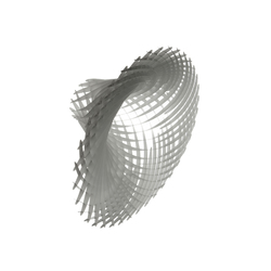 WAVE Sculpture Vortex | Wall decoration | Wave