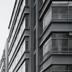 concrete skin | Hafen City Hamburg - Coffee Plaza | Facade systems | Rieder