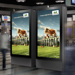 E-Panel Monitor Systems | Advertising displays | BURRI