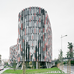 Main Point Karlin Office Building Czech Republic | Facade design | Rieder