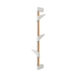 Bamboo Wall 3 wall coat rack | Guardaroba a muro | Cascando
