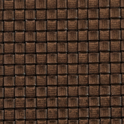 Basketweave 768 | marrón 593 | Tessuti per pareti | Naturtex