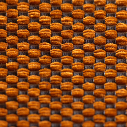 Chenille A-1037 | naranja | Wall fabrics | Naturtex