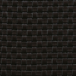 Basketweave A-1040 | negro | Tessuti decorative | Naturtex
