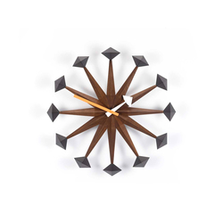 Polygon Clock | Clocks | Vitra