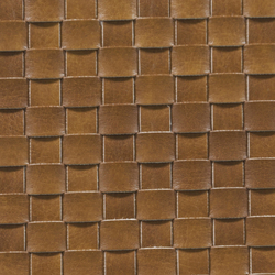Basketweave A-1332 | marrón | Artificial leather | Naturtex