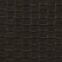Basketweave A-1332 | brown | Cuero artificial | Naturtex