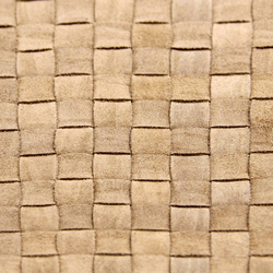 Basketweave A-1426 | beige | Leather | Naturtex