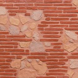 MSD Ladrillo rojo y lastra 209 | Pannelli composto | StoneslikeStones