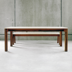 Sole table & bench | Mesas y bancos | Redwitz