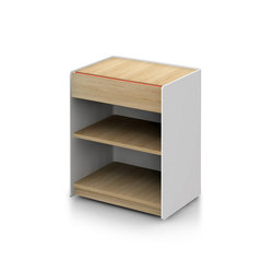 Landa Single Drawer Unit | Carritos auxiliares | Alki