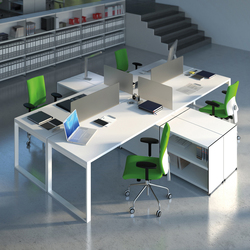Aspen work area | Desking systems | AG Land