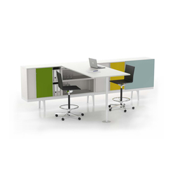 Level 34 | Seminar tables | Vitra